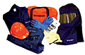 Arc Flash Safety Kits (Flash kit with gloves, Coat, Bib overall, Flash Hood)