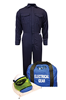 ArcGuard® UltraSoft® Arc Flash Kit with Coverall, No Gloves