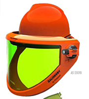 AS1200FB Full Brim Protective Faceshield - HRC 2 (12 Calories per Centimeter Square (CAL/CM<sup>2</sup>))